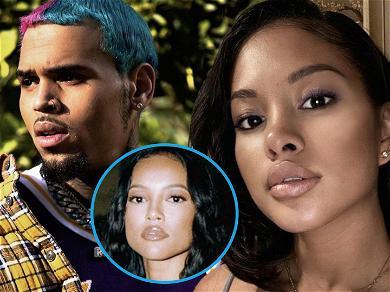 Chris Brown's Baby Mama Ammika Harris Calls Him The 'GOAT' After Karrueche Tran Drama