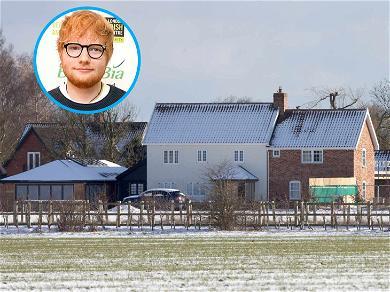 Fire Crews Battle Blaze at Ed Sheeran's English Estate