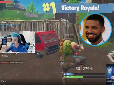 Drake Plays Fortnite for 600,000 Fans, Confirms Pineapple Goes on Pizza