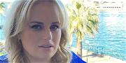 Rebel Wilson Trains With Giant Vodka Bottle In Tiny Minidress From Yacht