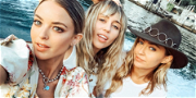 Miley Cyrus 'Rocks The Boat' With Brody Jenner's Estranged Wife