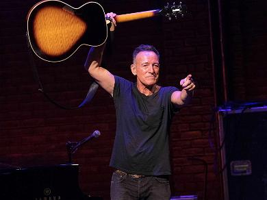 Bruce Springsteen Parties With the Crew After Completing Broadway Run