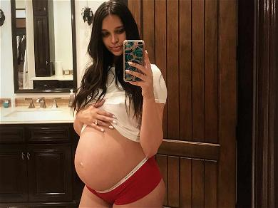 April Love Geary Shows Off Growing Baby Bump Weeks Before Due Date