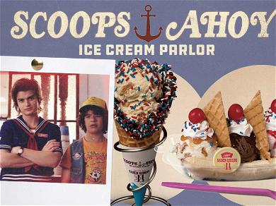 'Stranger Things' Makes 'Scoops Ahoy' Ice Cream Parlor a Reality