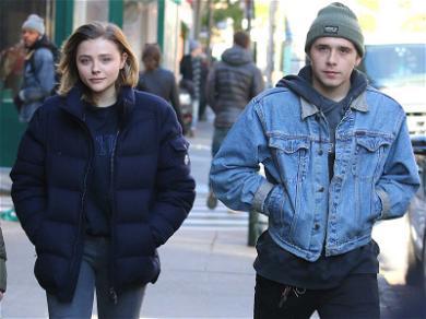 Chloe Grace Moretz Hangs with Boyfriend Brooklyn Beckham as Louis C.K. Movie Crumbles