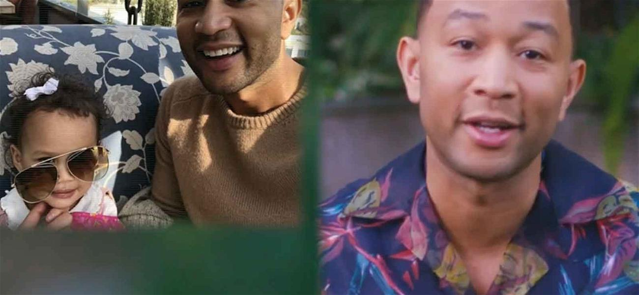 John Legend Reveals His Camera Roll And It's Mainly Just Adorable Pics of Luna