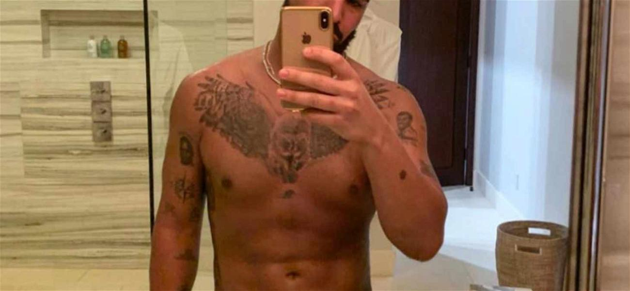 Drake Shows Off His New Hooter in Ripped Shirtless Photo