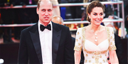 Awkward Moments for Prince William and Kate Middleton at the BAFTAs