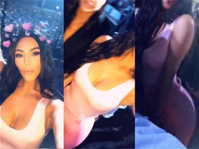 Kim Kardashian Films Her Own Ass at Beyoncé's Concert