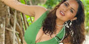 Salma Hayek Throws Back Tequila Shot For Star-Packed Salute
