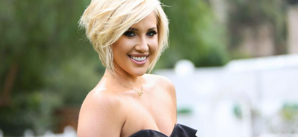 Savannah Chrisley Flaunts Stunning Body In Wet-Effect Spandex For Revealing Workout