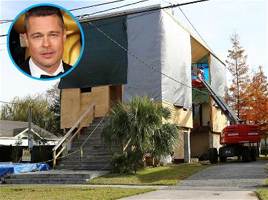 Brad Pitt's Charity Gets to Work Fixing Shoddy New Orleans Homes While Lawsuit Continues