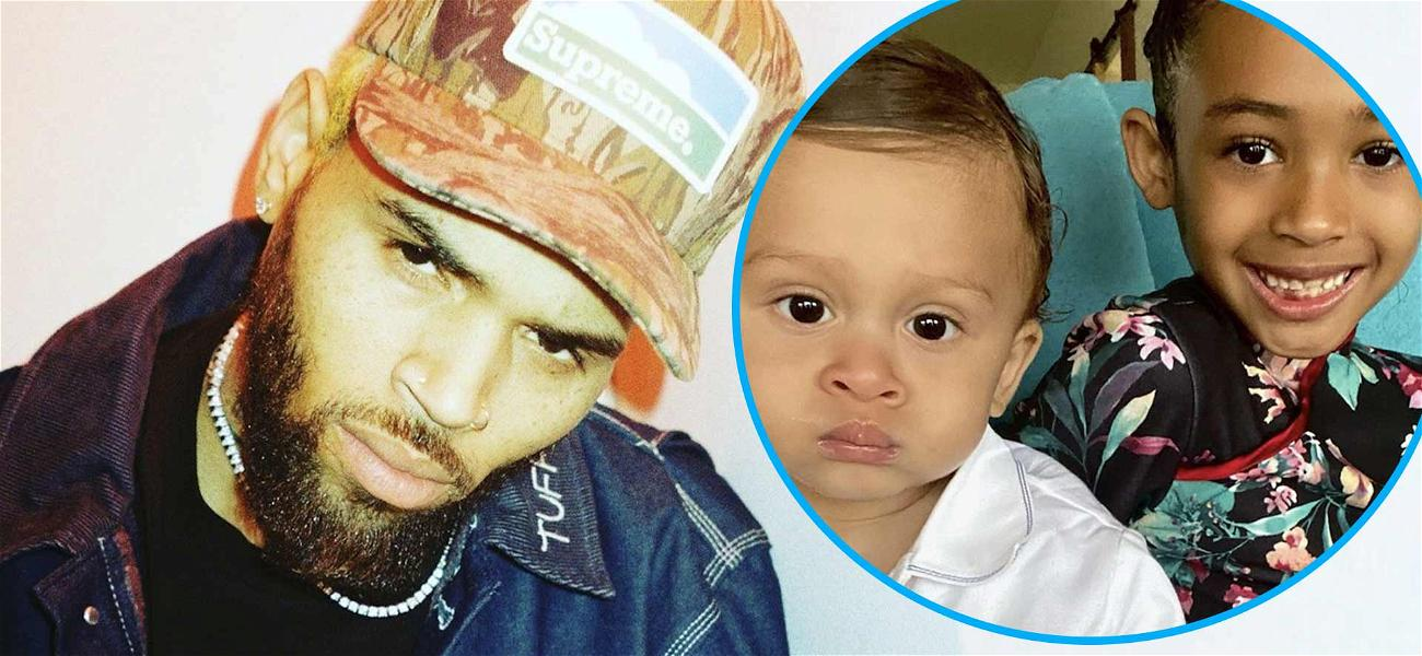 Chris Brown's Kids Are 'Double Trouble' In Cutest Sibling Pics