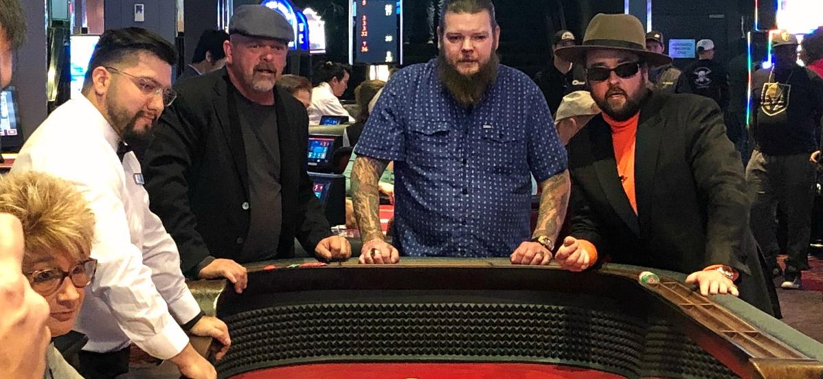 'Pawn Stars' Rick, Corey & Chumlee Get Rich the Hard Way During Las Vegas Craps Run