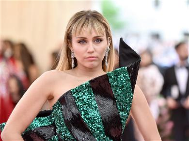 Miley Cyrus Gives A Middle Finger To Instagram Censors With A NSFW Nip Slip