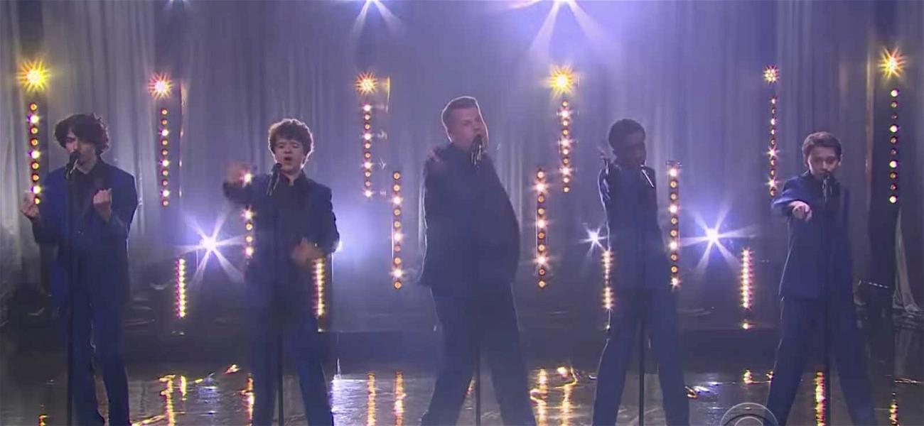 'Stranger Things' Kids Bring Motown to the Upside Down with James Corden