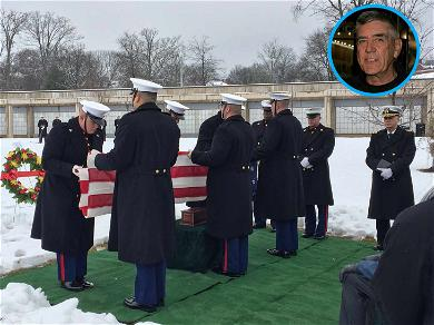 'Full Metal Jacket' Star R. Lee Ermey Buried with Honors at Arlington National Cemetery