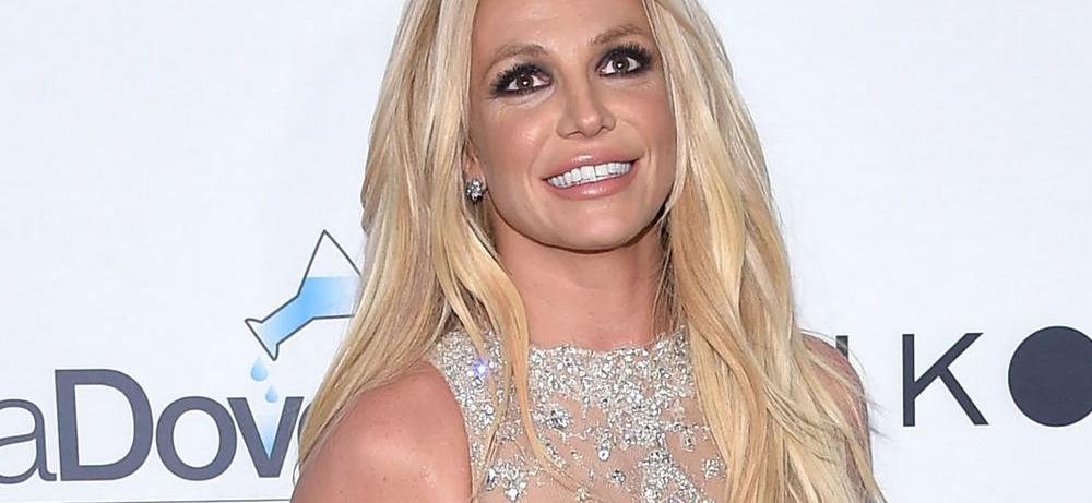 Britney Spears Wows Tugging Down Bikini In High Heels