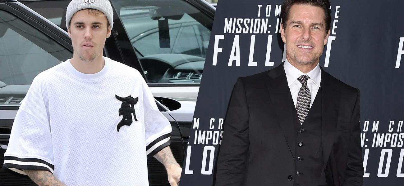Justin Bieber Challenges Tom Cruise to a Fight for No Reason