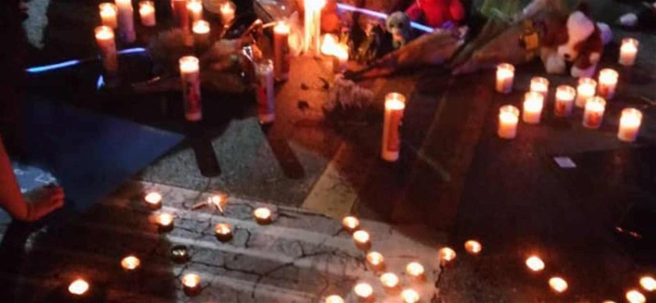 XXXTentacion Fans Hold Candlelight Vigil at Scene of Murder