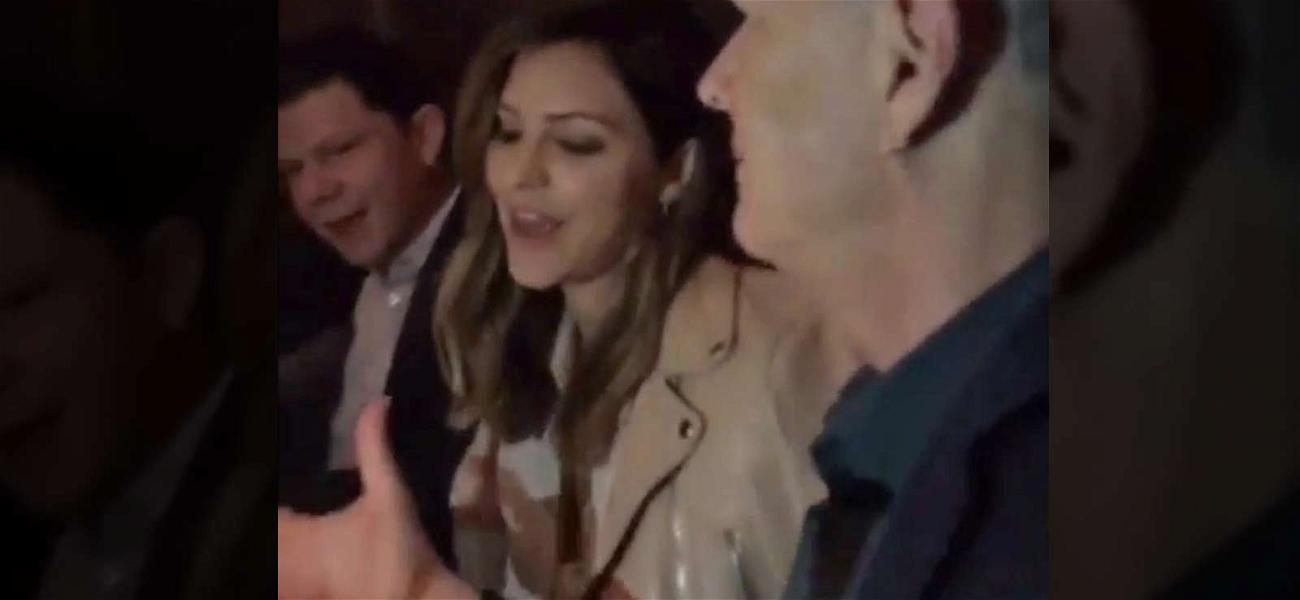 David Foster Brings Katharine McPhee to Birthday Dinner with Family