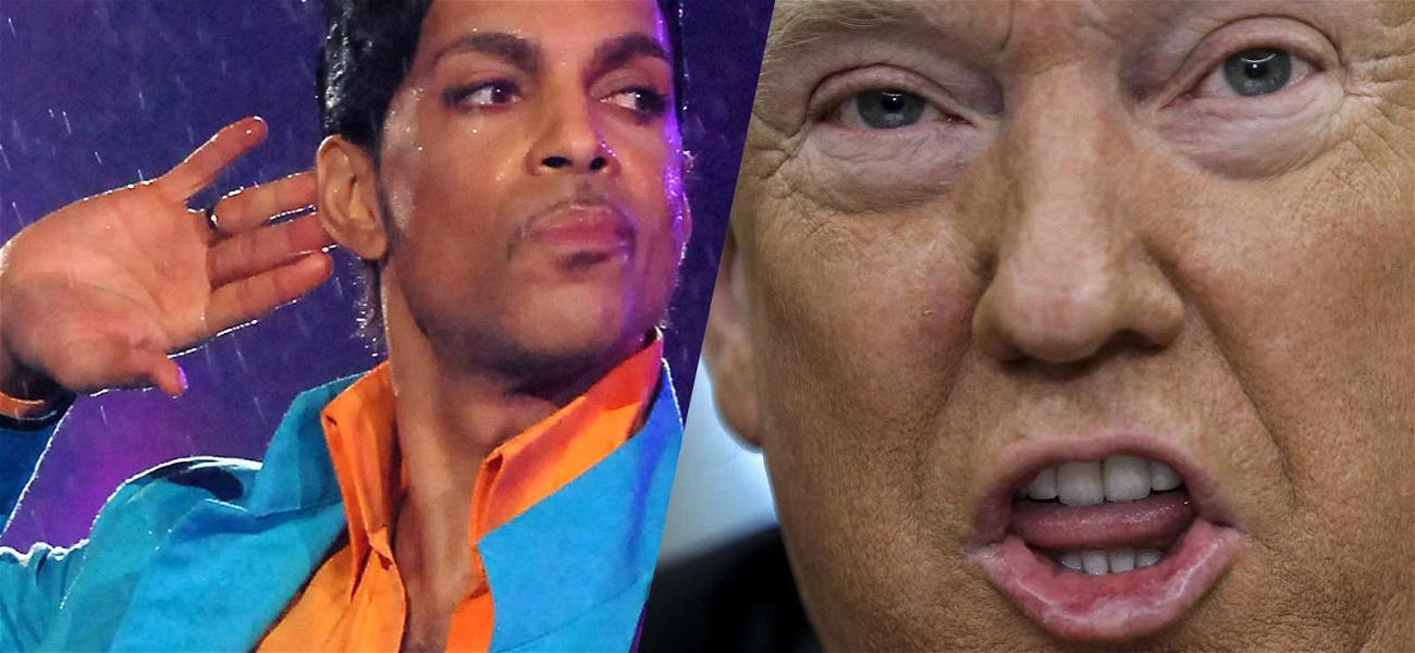 Prince Estate Tells Donald Trump to Stop Playing 'Purple Rain' at Rallies