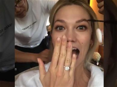 Karlie Kloss Shows Off Diamond Sparkler For First Time Since Engagement