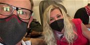 Tara Reid And Ian Ziering Reunite On Plane; 'Sharknado' Coincidence?