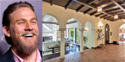 'Sons Of Anarchy': Take A Tour Of Star Charlie Hunnam's Huge Hollywood House
