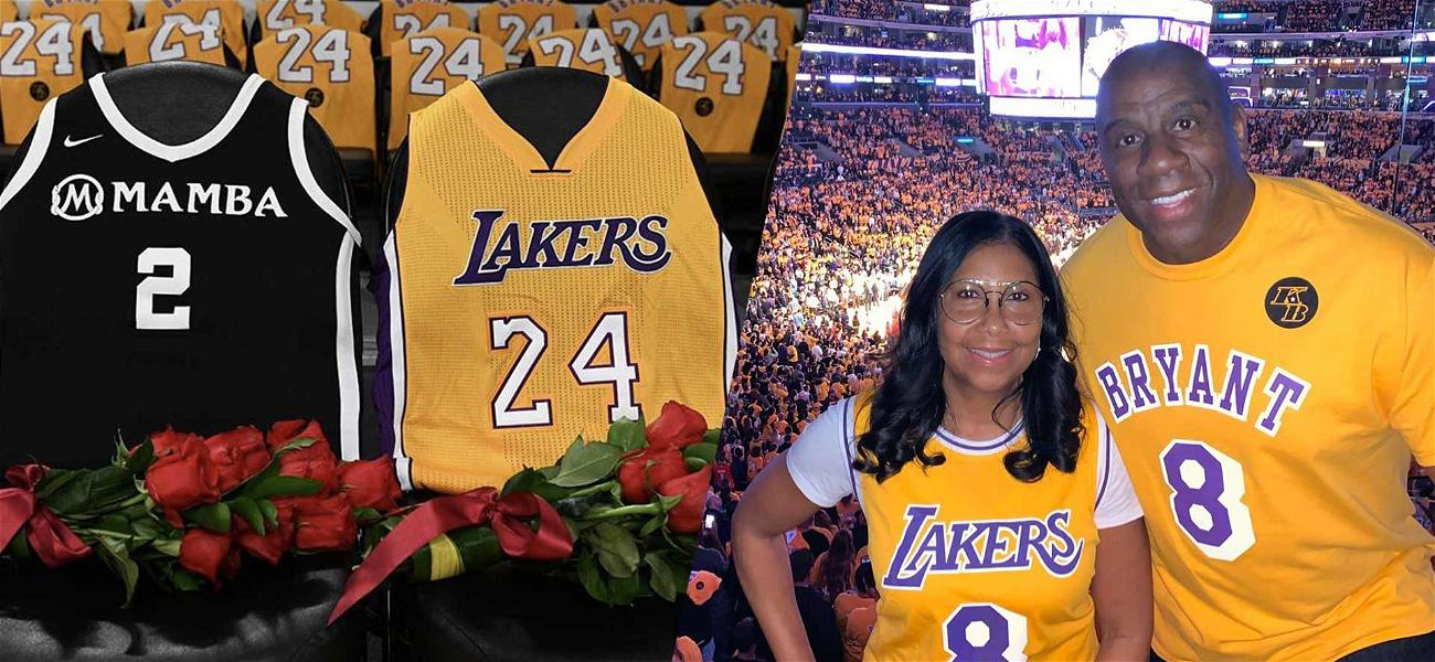 Magic Johnson Says The Lakers Honored Kobe Bryant in 'The Most Amazing Way'
