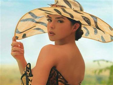 Demi Rose 'Comfortable' Sunbathing With Apple Bottom Bare