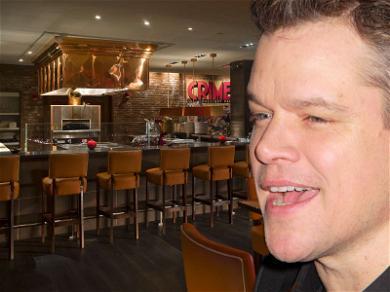 Matt Damon Goes Out for Undercover Steak and Salmon