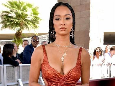 Draya Michele Wows In Spandex Bra From Bathroom With 'A Little Over $500' Gadget