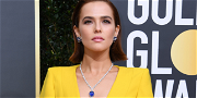 'The Politician' Star Zoey Deutch Stuns In Yellow Fendi Gown at Golden Globes
