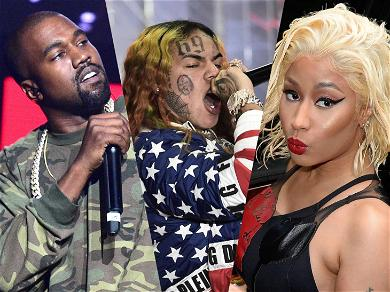 Tekashi, Kanye and Nicki Minaj Meeting Up in L.A. to Collab on Music Video