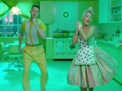 Pink and Channing Tatum Serve Up Comically Dark Look on Marriage in 'Beautiful Trauma'