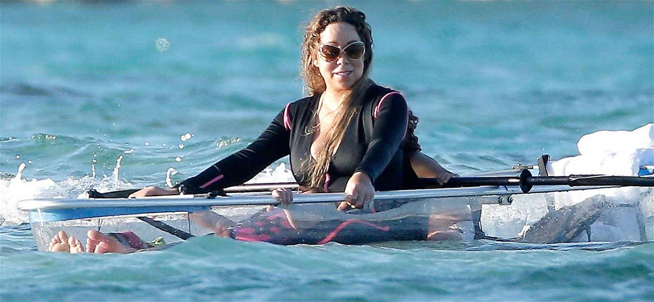 Mariah Carey Bottoms Out in St. Barts with Bryan Tanaka
