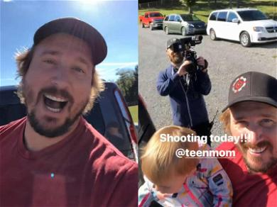 Dakota Meyer Shows Off 'Teen Mom' Crew While Filming Without Bristol Palin