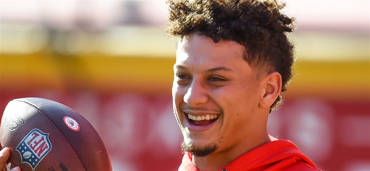 Patrick Mahomes Shares Adorable Father-Daughter Photo To Mark 1-Month Milestone