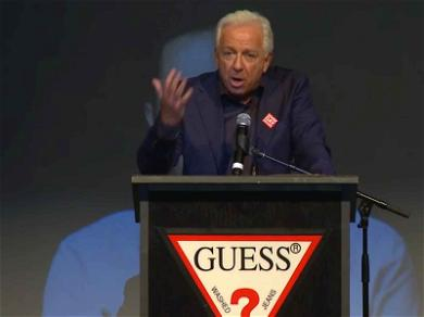 Paul Marciano Preached Against Sexual Assault In Speech at Guess Event