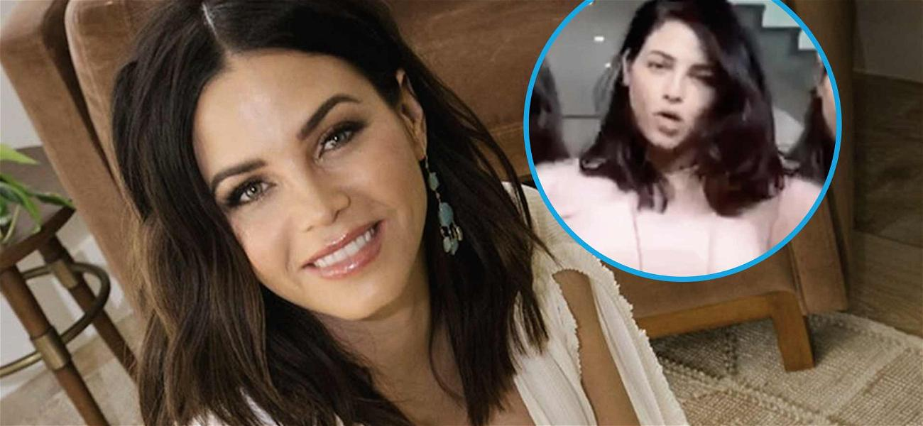 Jenna Dewan Flaunts Sizzling Post-Baby Body, Nails #Intensions Dance Challenge