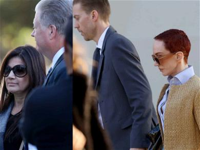 Kathy Griffin Shows Up to Court to Battle CEO Neighbor