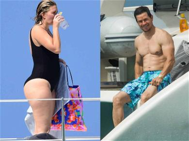 Mark Wahlberg and Wife Rhea Relax on a Caribbean Cat