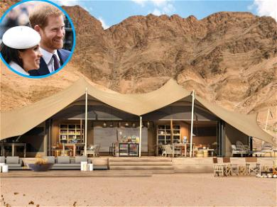 Prince Harry and Meghan Markle's Desert Honeymoon May Have Them Sleeping in Tents With Rhinos
