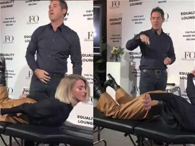 Julianne Hough's 'Exorcist' Energy Treatment Video Will Freak You Out!