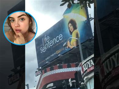 Lucy Hale Freaks Out Over 'Life Sentence' Billboard