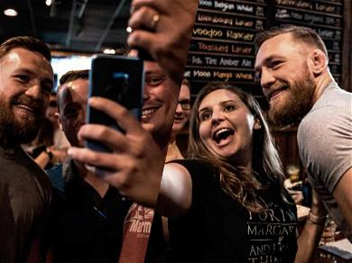 Conor McGregor Took Pics with Fans and Didn't Smash One Phone