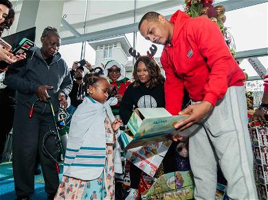 T.I. Makes Three Surprise Christmas Visits Around Atlanta