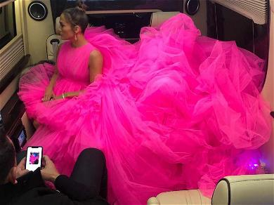 J. Lo to A-Rod: Move Over, My Dress Too Fat!