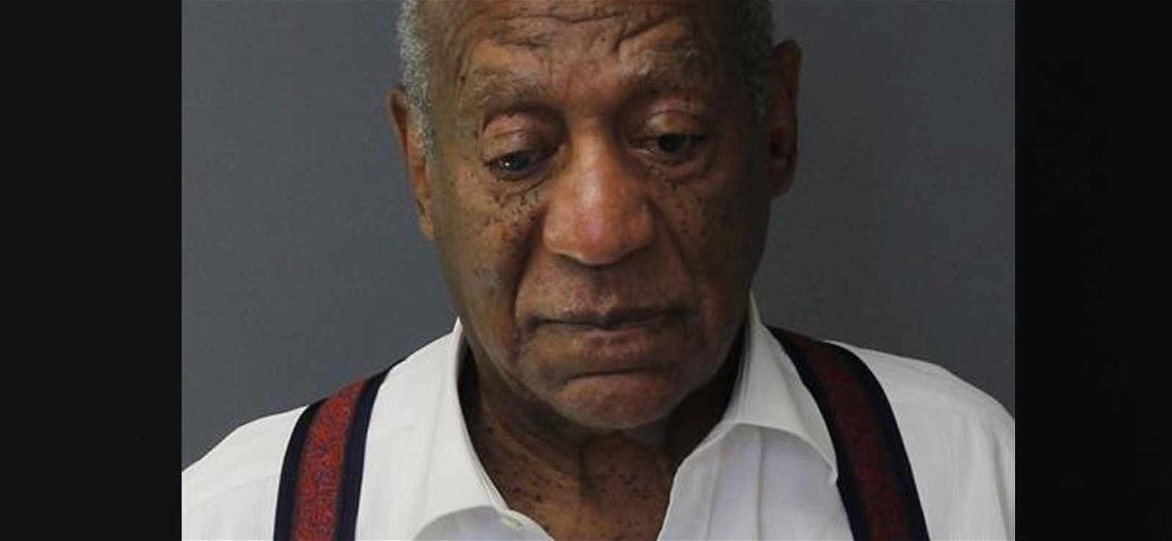 Bill Cosby Looks Distraught in New Mug Shot